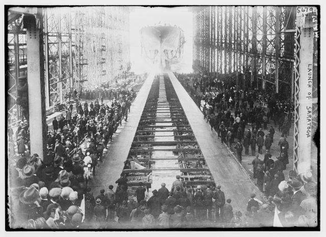 Launch of Saratoga