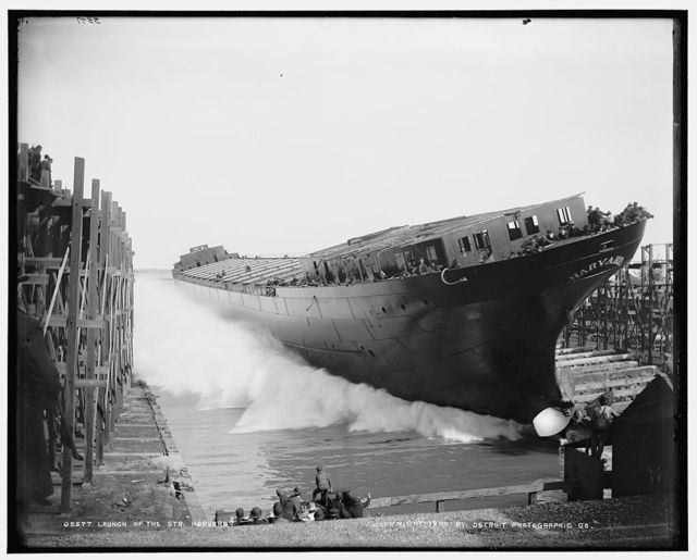 Launch of the str. Harvard