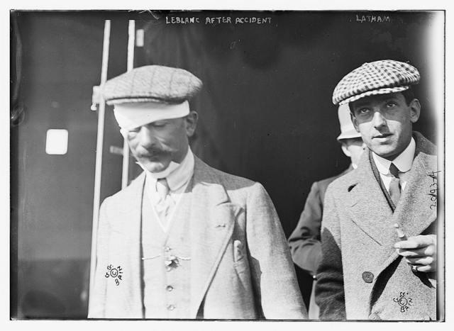 LeBlanc after accident, Latham.