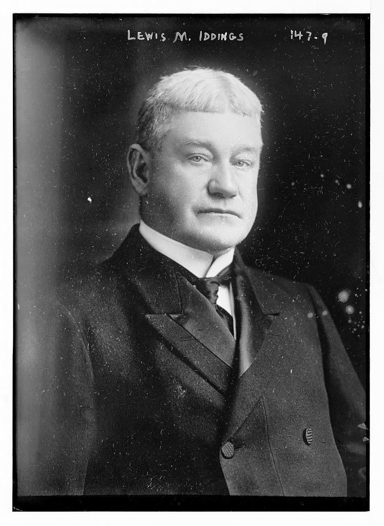 Lewis M. Iddings, portrait bust