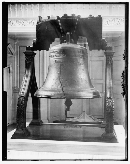 [Liberty Bell, Independence Hall, Philadelphia, Pa.]