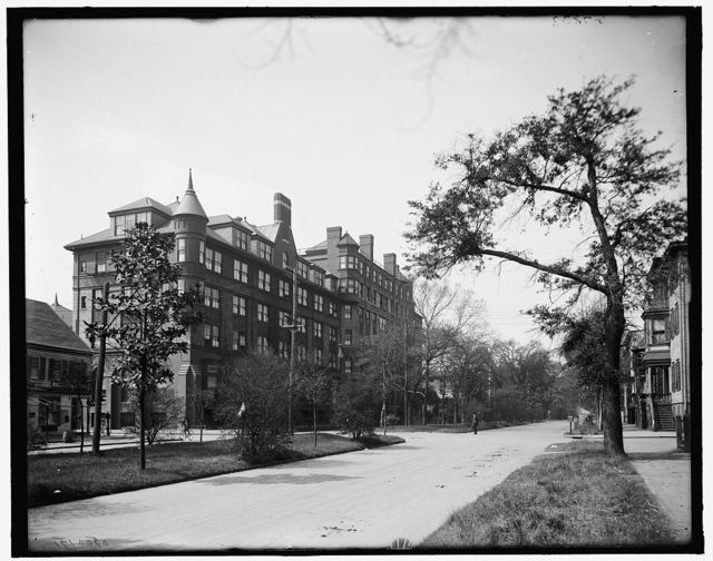 [Liberty St. and DeSoto Hotel, Savannah, Ga.]
