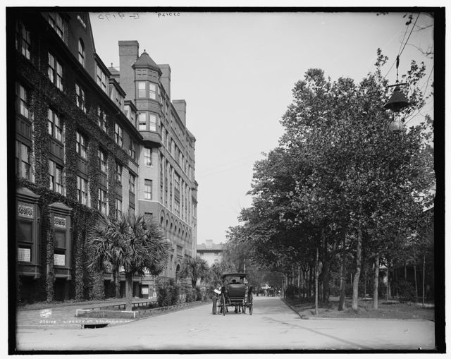 Liberty St. [Street], Savannah, Ga.