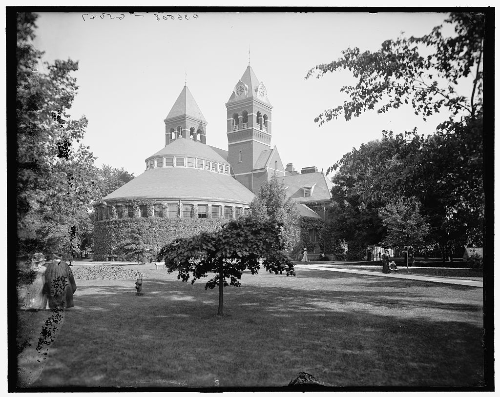 [Library, University of Michigan, Ann Arbor, Mich.]