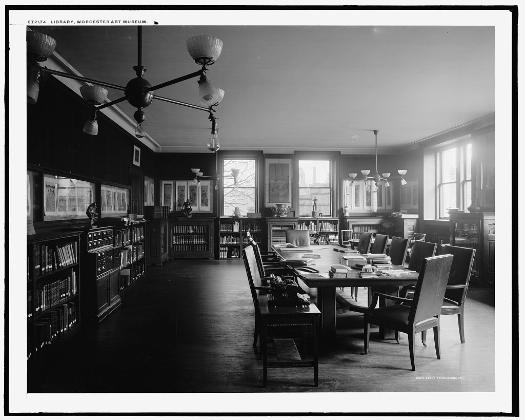 Library, Worcester Art Museum [Worcester, Mass.]