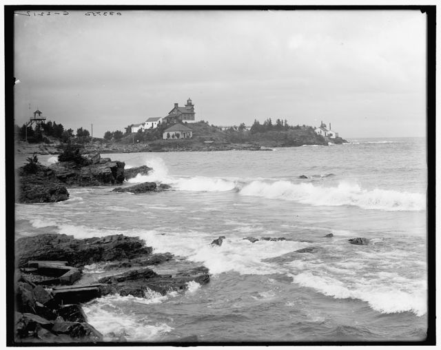 [Light House Point, Marquette, Mich.]