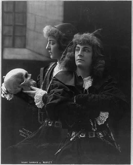 "Lillian Lawrence as ""Hamlet"""