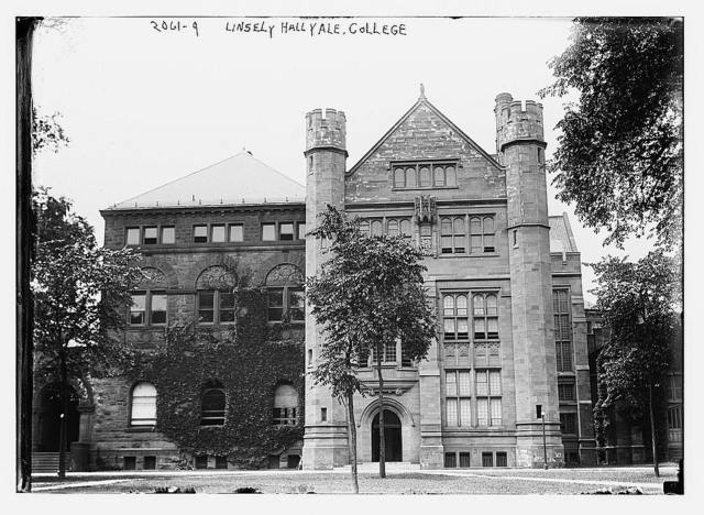 Linseley Hall, Yale College