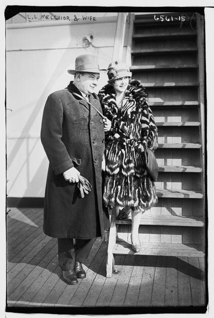 L.L. Melchior & wife