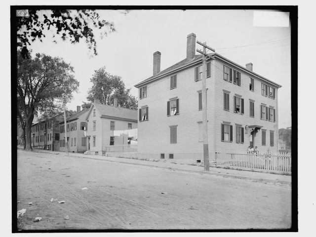 [Longfellow and Reed's birthplaces, Portland, Me.]