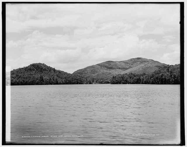 Looking across Silver Lake, Green Mountains