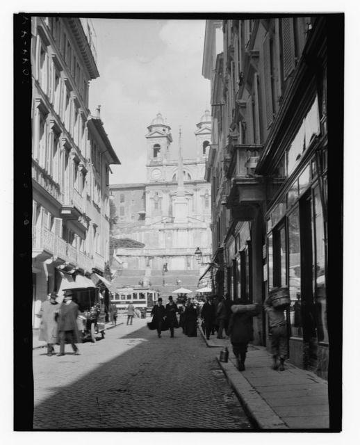 Looking toward Piazza di Spagna - Rome