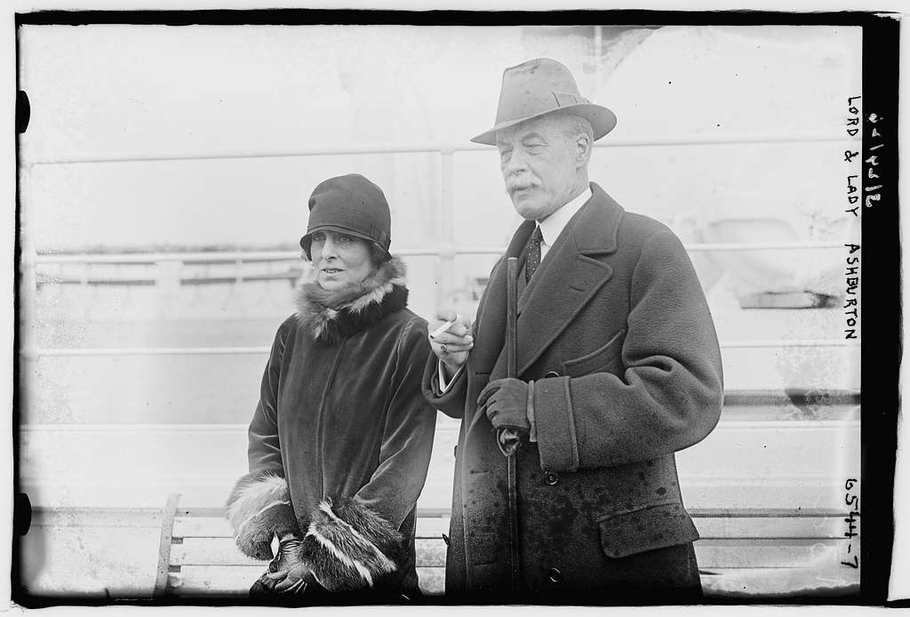 Lord & Lady Ashburton