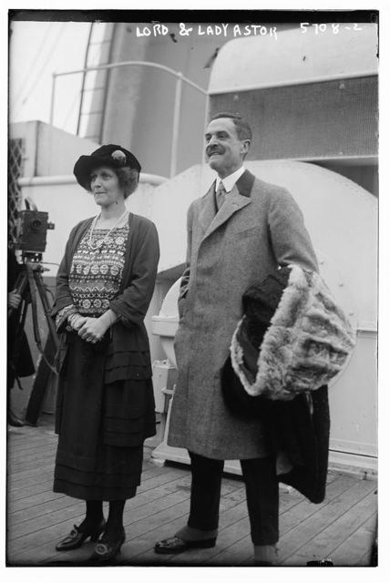 Lord and Lady Astor