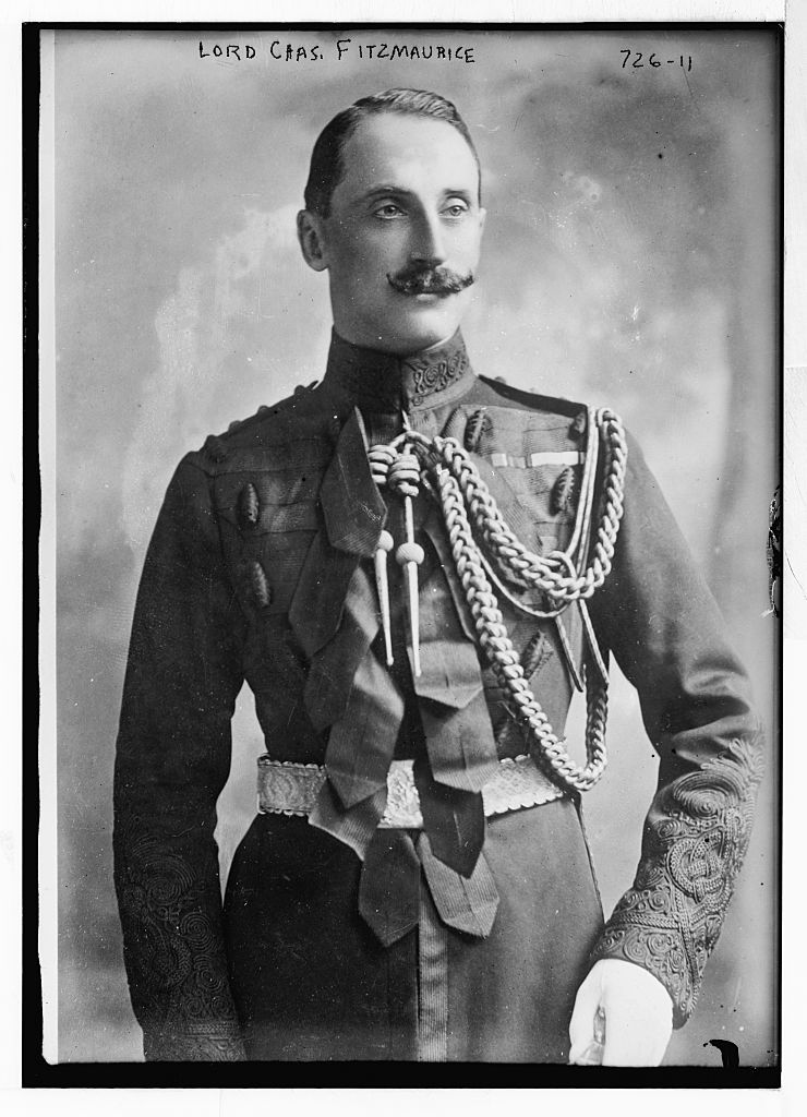 Lord Chas. Fitzmaurice, in uniform