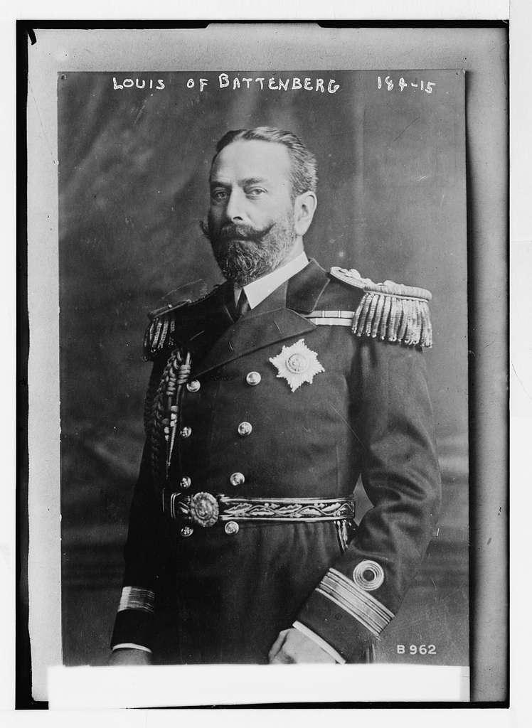 Louis of Battenberg, in uniform