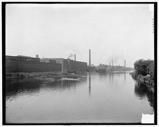 [Lowell, Mass., mills on Merrimack River]