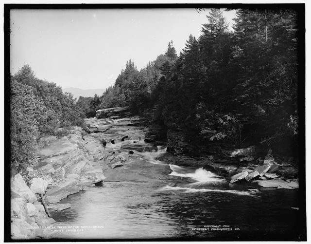 Lower falls of the Ammonoosuc, White Mountains