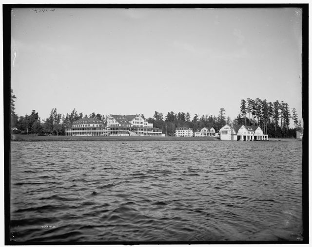 [Lower St. Regis Lake, Paul Smith's Hotel, Adirondack Mts., N.Y.]