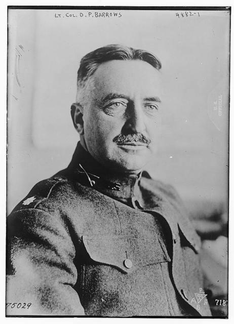Lt. Col. D.P. Barrows