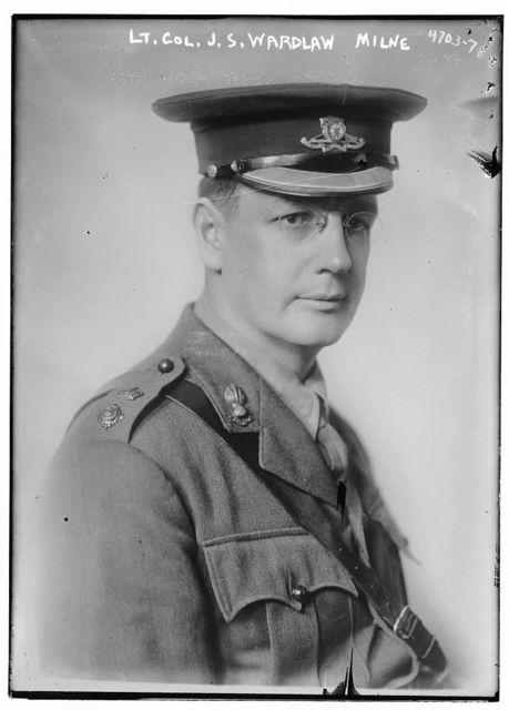 Lt. Col. J.S. Wardlaw Milne