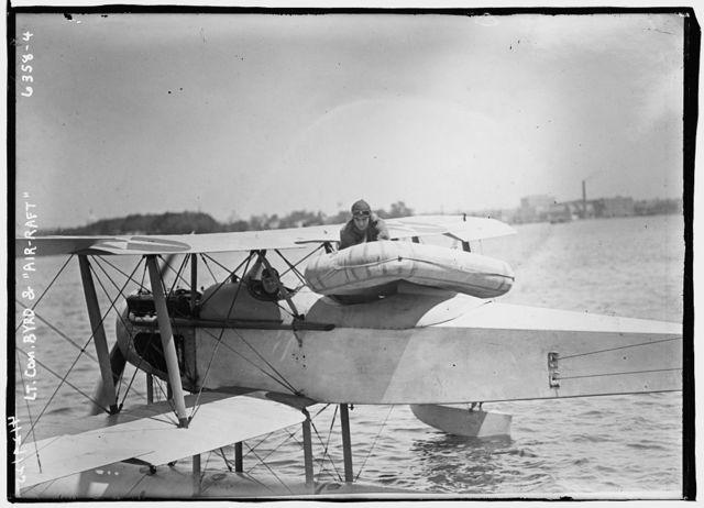 "Lt. Com. Byrd and ""Air-Raft"""