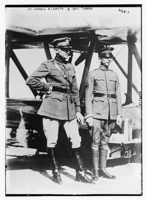 Lt. Lowell H. Smith and Sgt. Harvey
