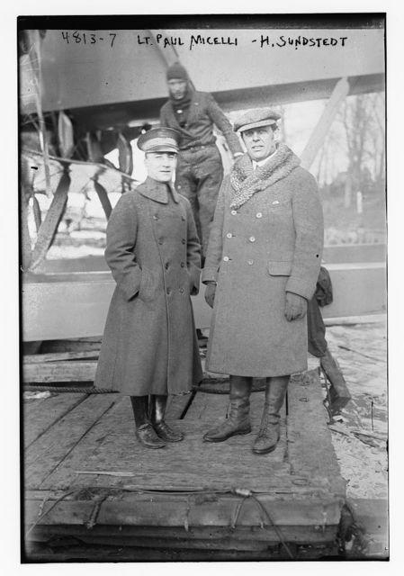 Lt. Paul Micelli, H. Sundstedt