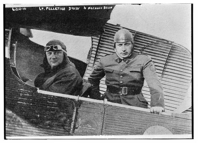 Lt. Pelletier D'Oisy & Mech. Besin