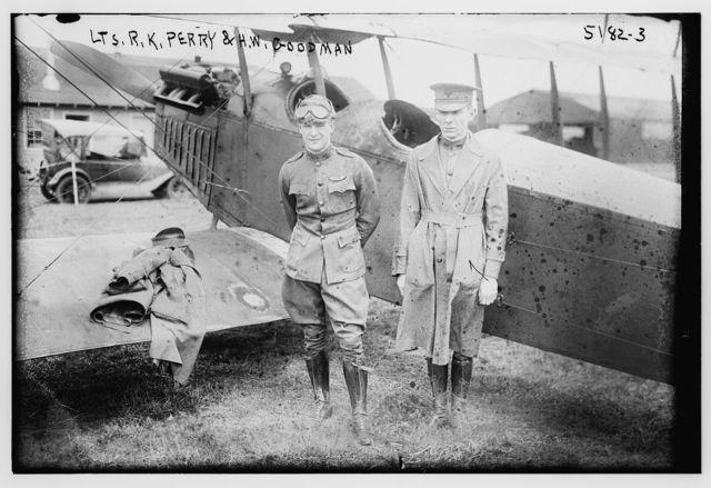 Lts.: R.K. Perry & H.W. Goodman