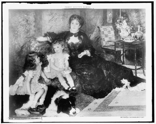 Madam Charpentier and family