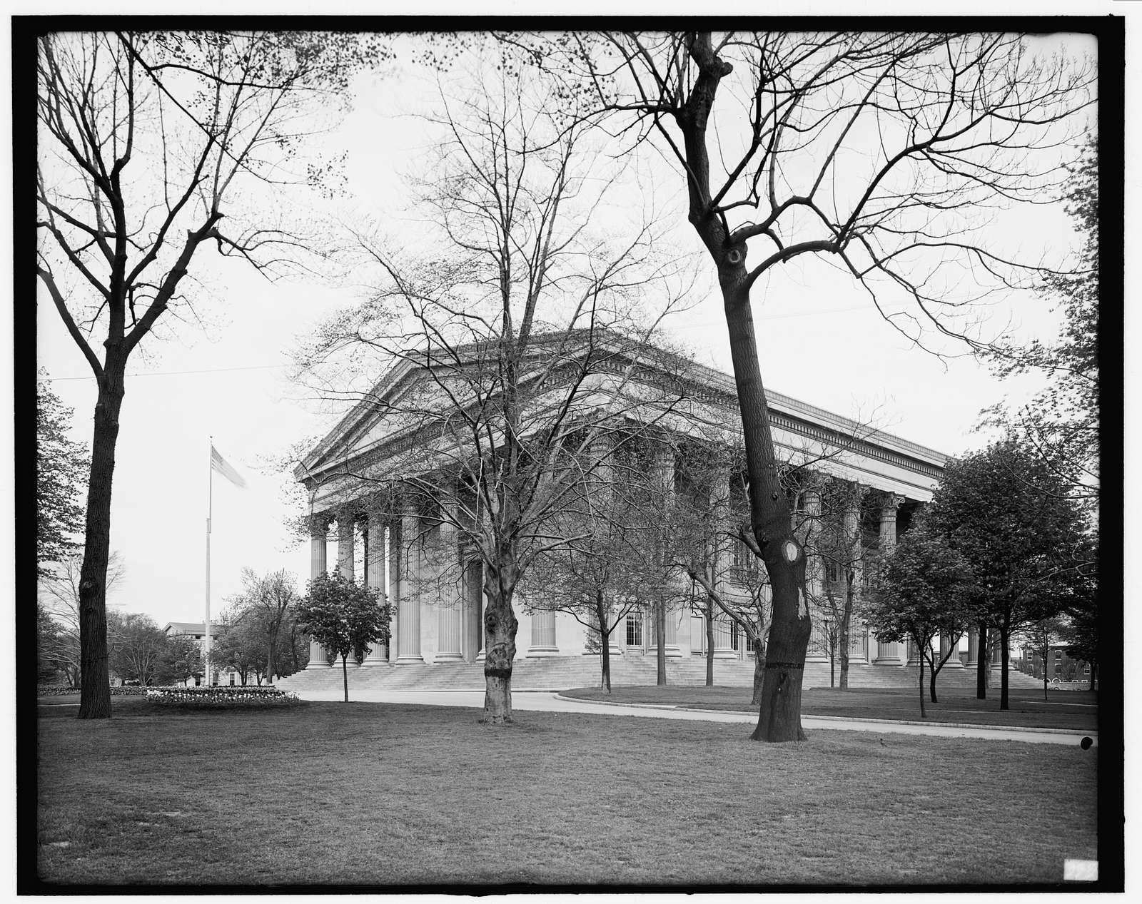 Main Building, Girard College, Philadelphia, Pa.
