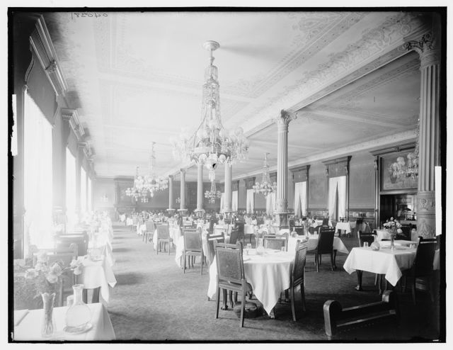 Main dining room, Murray Hill Hotel