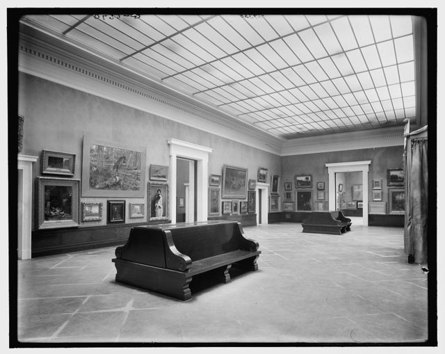 [Main gallery, Albright Art Museum (Gallery), Buffalo, N.Y.]