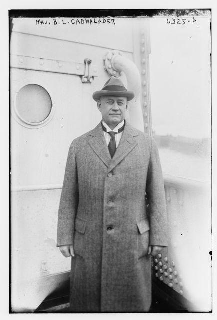 Maj. B.L. Cadwalader