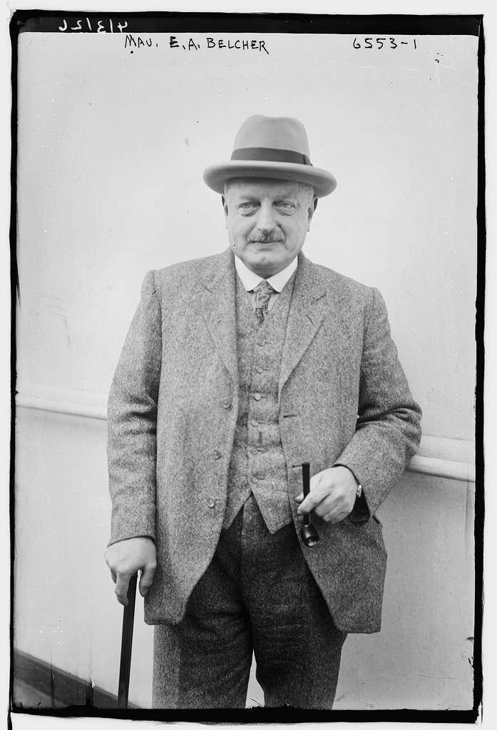 Maj. E.A. Belcher