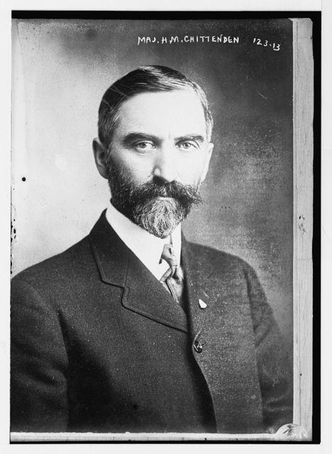 Maj. H.M. Chittenden, portrait bust