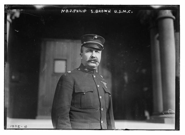 Maj. Philip S. Brown, U.S.M.C.