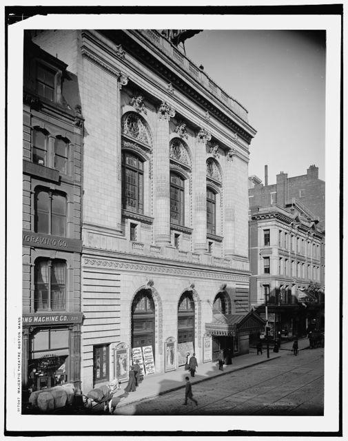 Majestic Theatre, Boston, Mass.