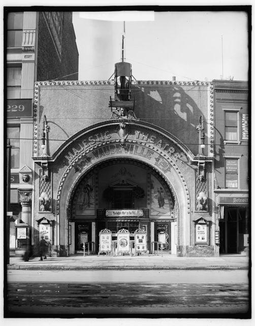 [Majestic Theatre, Detroit, Mich.]