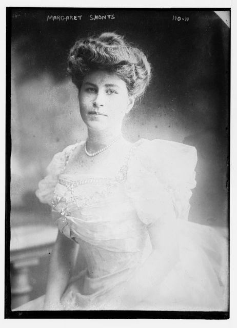 Margaret Shonts, standing three-quarters