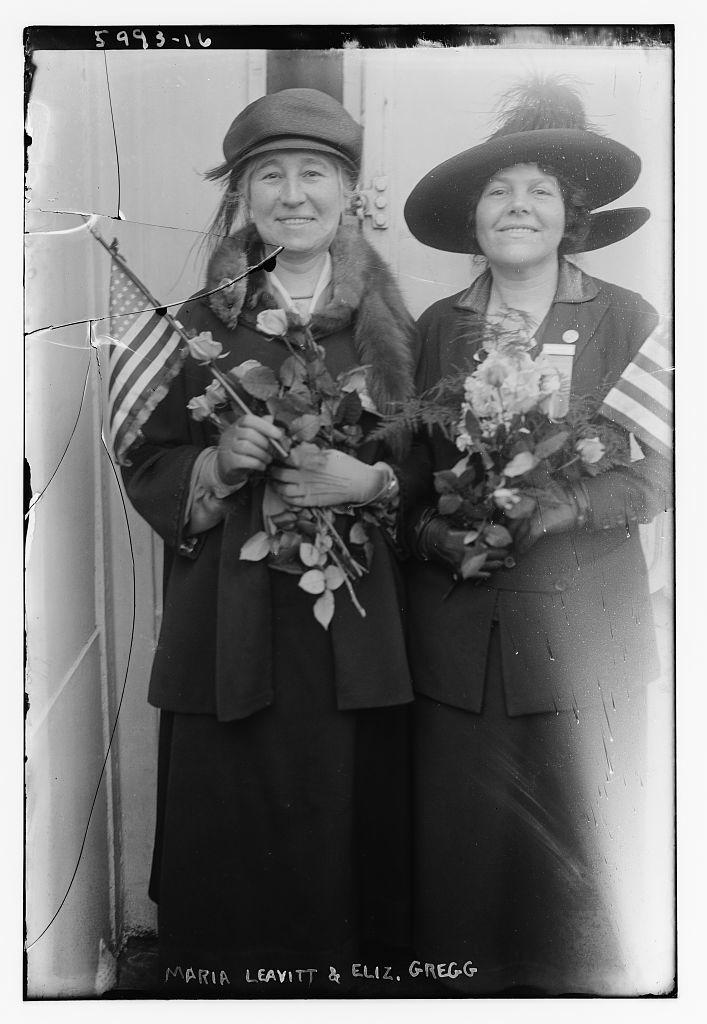 Maria Leavitt and Eliz. Gregg