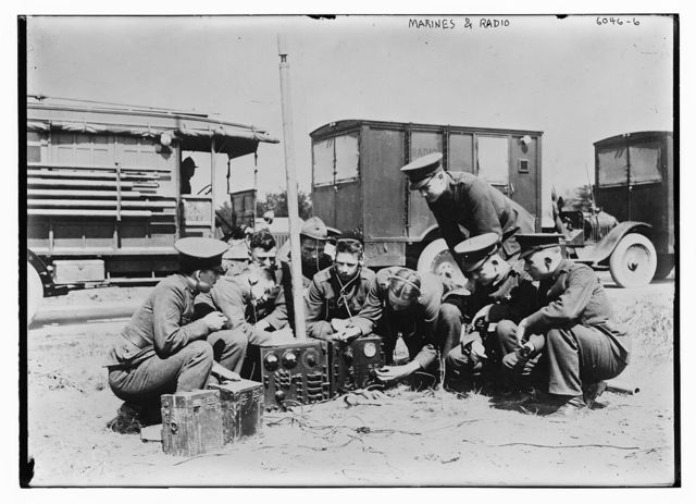 Marines and radio