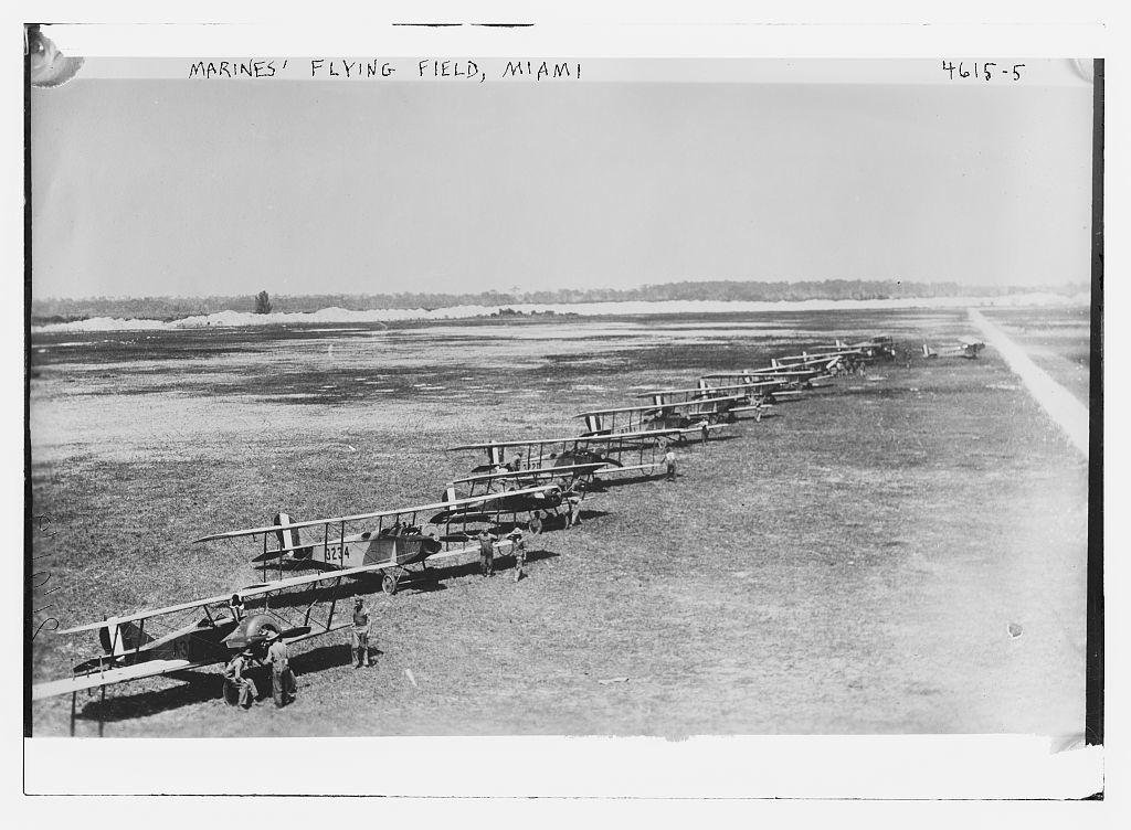 Marines' flying field, Miami