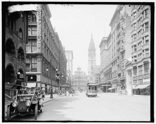 [Market Street, west from 11th, Philadelphia, Pa.]