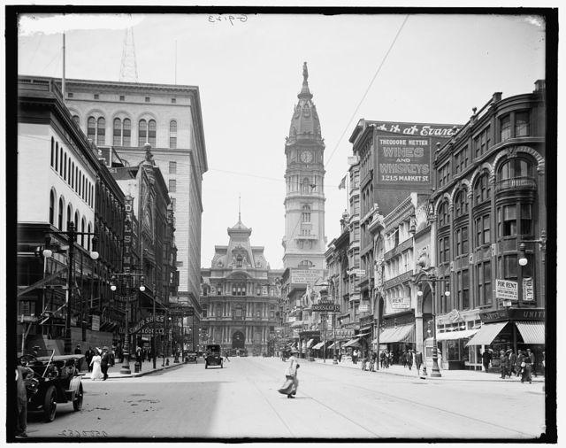[Market Street, west from 12th, Philadelphia, Pa.]