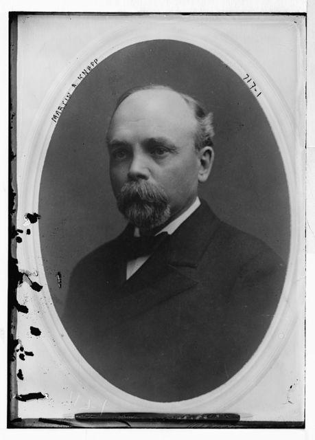 Martin A. Knapp, cameo portr.