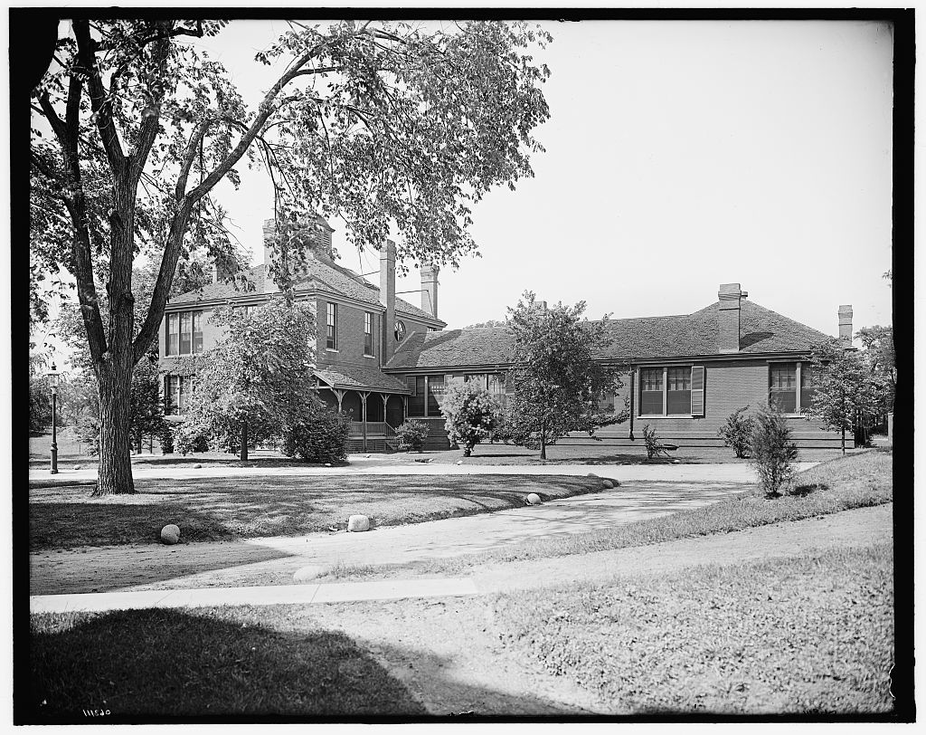 [Maternity building, New England Hospital for Women & Children, Dimock Street, Boston, Mass.]