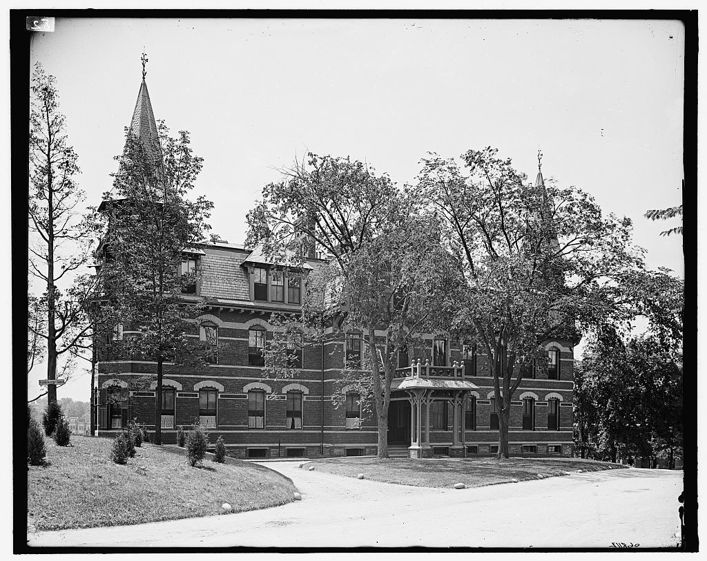 [Maternity building, New England Hospital for Women & Children, Dimock Street, Boston, Mass.]