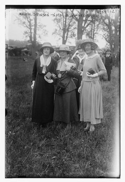 Maude Stinson, Natalja & Mary Black